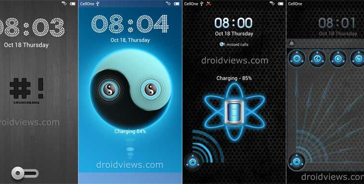 Three New Amazing LS Themes for MIUI