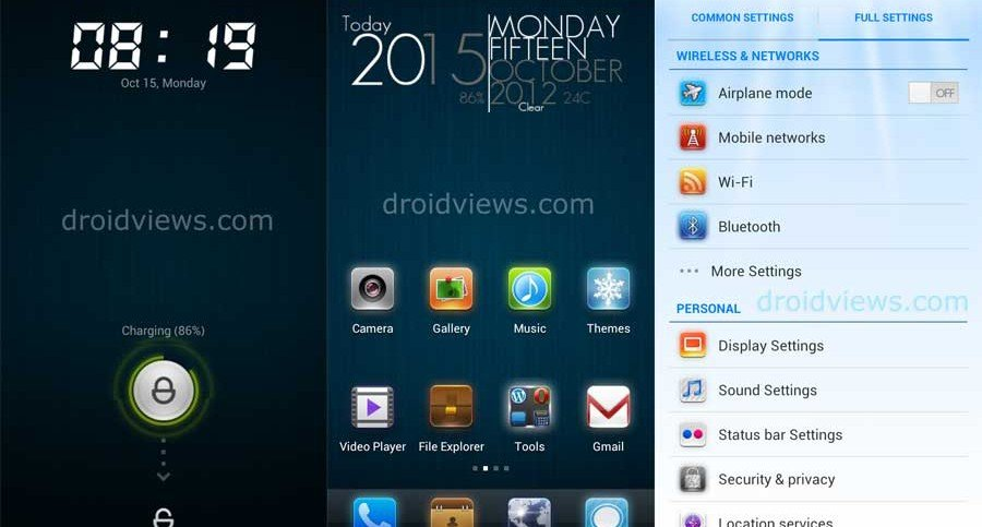 Dulce Mini Theme for MIUI V4/JB (Translated)