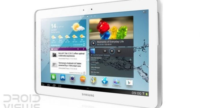 Official Android 4.1.1 Jelly Bean Firmware Update for Samsung Galaxy Tab 2 7.0 P3100 (Vodafone)
