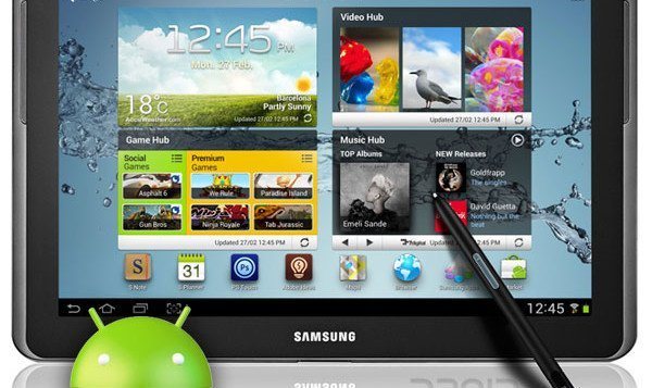 Samsung Galaxy Note 10.1 GT-N8000 Receives Android 4.1.1 Jelly Bean Firmware Update