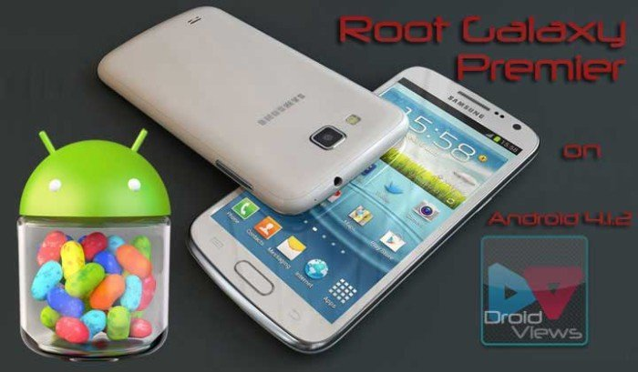 Root Samsung Galaxy Premier GT-I9260 on Android 4.1.2 Jelly Bean Firmware