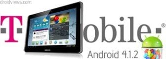 Install Android 4.1.2 Jelly Bean Firmware on T-Mobile Galaxy Tab 2 10.1 SGH-T779