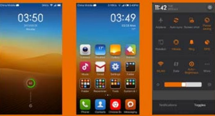 GrayOrange Theme for MIUI V5
