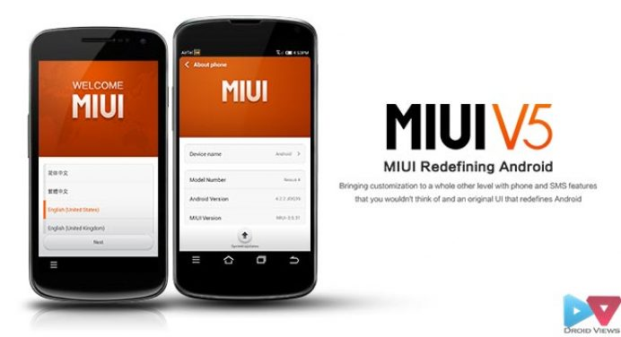 Install MIUI V5 ROM on the Nexus 4 and Galaxy Nexus
