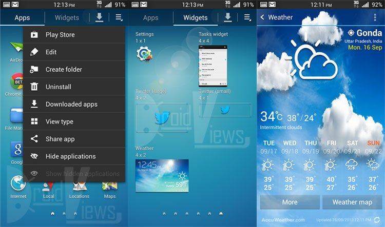 Galaxy-S4-Launcher-and-AccuWeather
