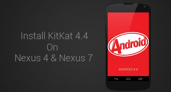 Install ParanoidAndroid Stock 4.4 AOSP Build on Nexus 4 & Nexus 7