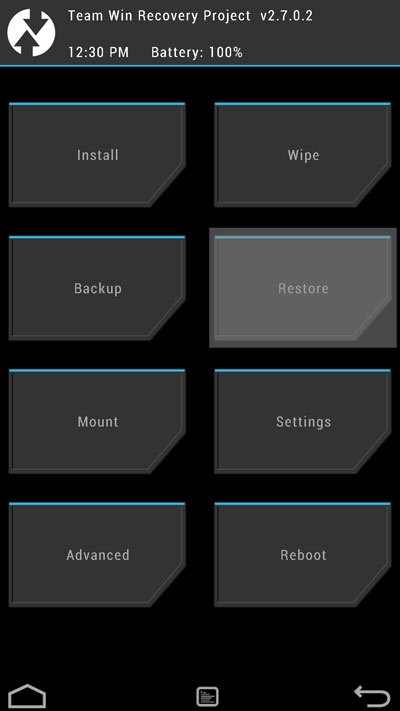 twrp-recovery-menu
