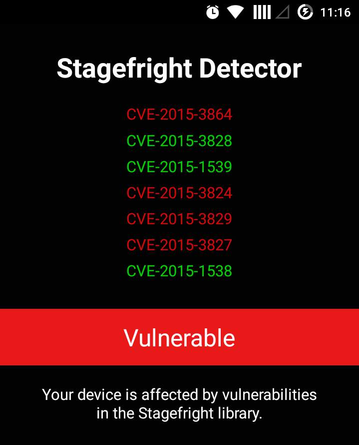 stagefright-test