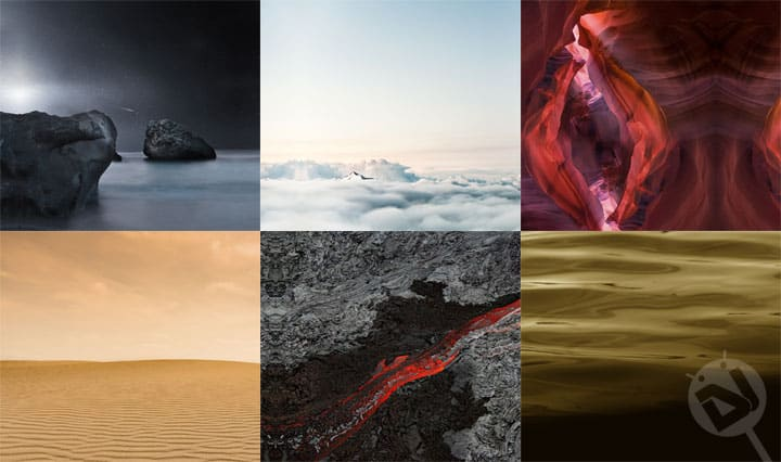 HTC One A9 Stock Wallpapers