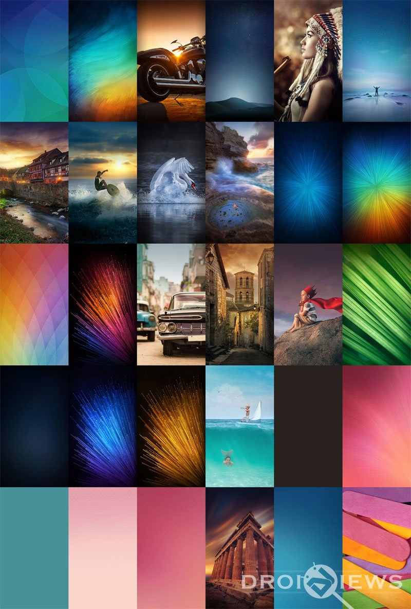 Download Miui 8 Stock Wallpapers Droidviews