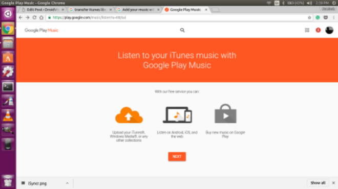 Transfer iTunes Music Library To Android via Google Play Music