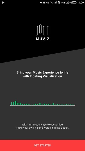 Get Started with MUVIZ Nav Bar Audio Visualizer
