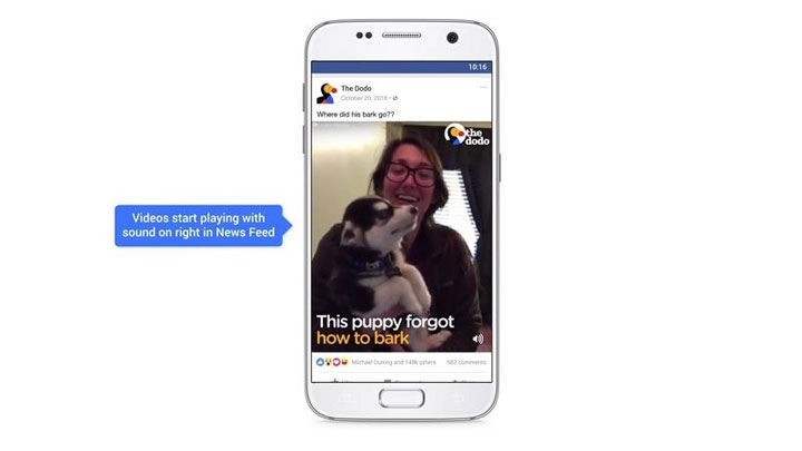 Turn Off Facebook Video Auto Play