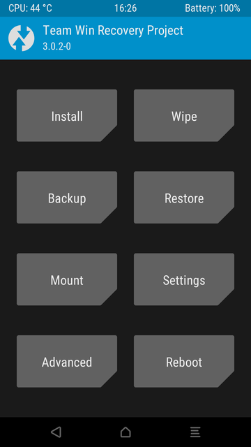 flash a custom rom on android