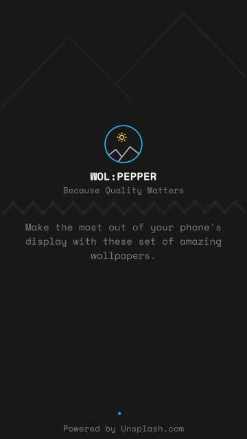 Get Vibrant Vivid And Rich Wallpapers With Wolpepper App For