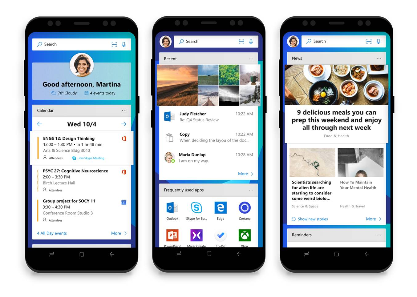 Microsoft Launcher Available Now On Android, Edge Arriving Soon