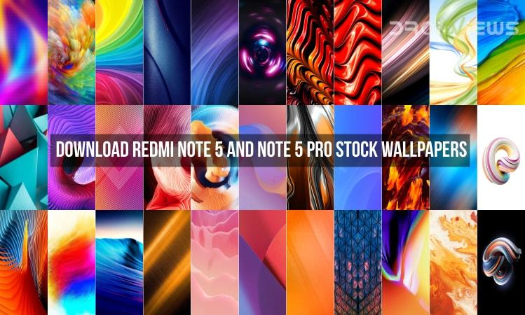 Download Xiaomi Redmi Note 4 Stock Wallpapers: Download Redmi Note 5 And Note 5 Pro Stock Wallpapers
