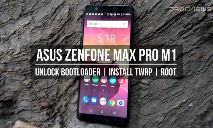 Unlock Bootloader, Install TWRP and Root Asus Zenfone Max