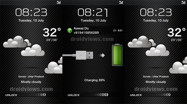 360 Weather Clock MIUI