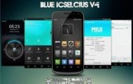 Blue ICSelcius 3.4 Theme