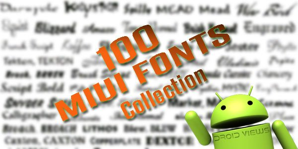Custom Fonts for MIUI ROM