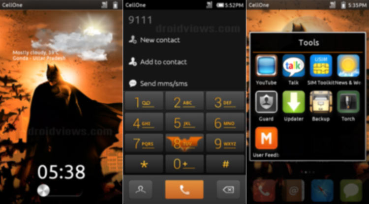 Dark Knight Returns Miui Theme
