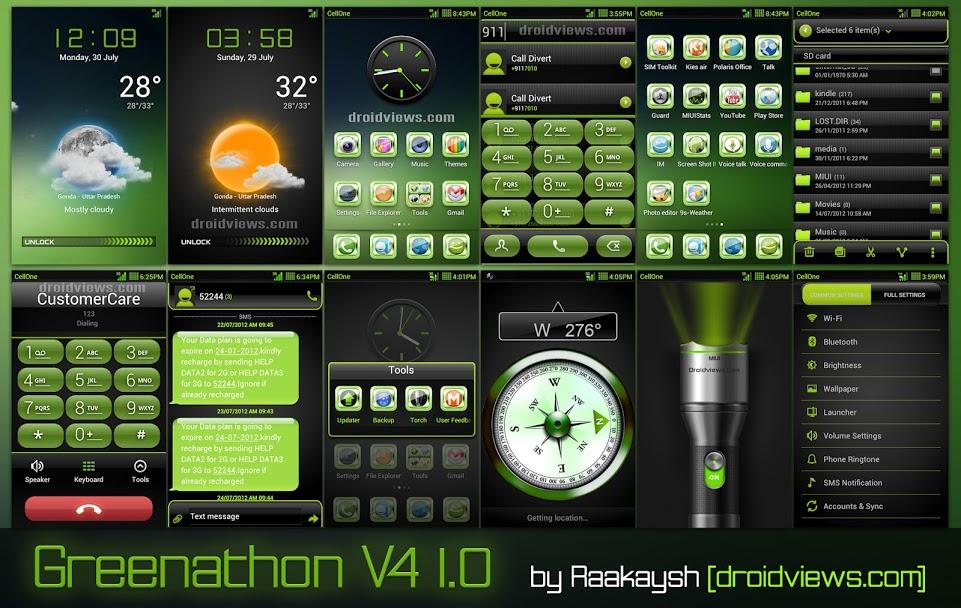 Greenathon HD 1.4 Theme