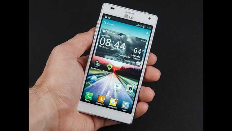 LG Optimus 4X HD - Hand Holding White LG Optimus 4X HD - Droid Views