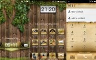 Summer Memories Theme - Summer Memories Theme For MIUI V4 With Wooden Fence And Leaves - Droid Views