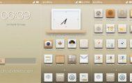 ZEN Theme - ZEN Theme for MIUI V4 & GB in Light Brown - Droid Views