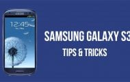 Tricks and Customization - Samsung Galaxy S3 Tips And Tricks In Blue Background - Droid Views