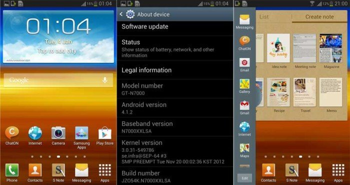 Try Out Android 4.1.2 Jelly Bean Official Test Firmware on ...