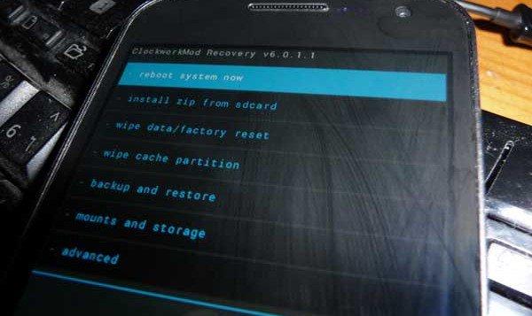 Galaxy Nexus I9250 recovery mode