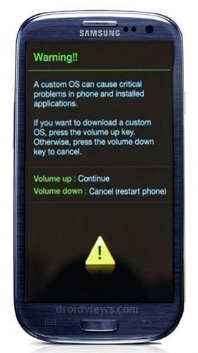 Root Samsung Galaxy S3 On Android 4.1.1 Jelly Bean Firmware - Galaxy S3 Download Mode - Droid Views