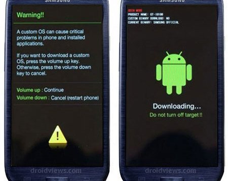 How to Install Stock Firmware on Samsung Galaxy S3 (All Models) - Galaxy S3 Download Mode - Droid Views