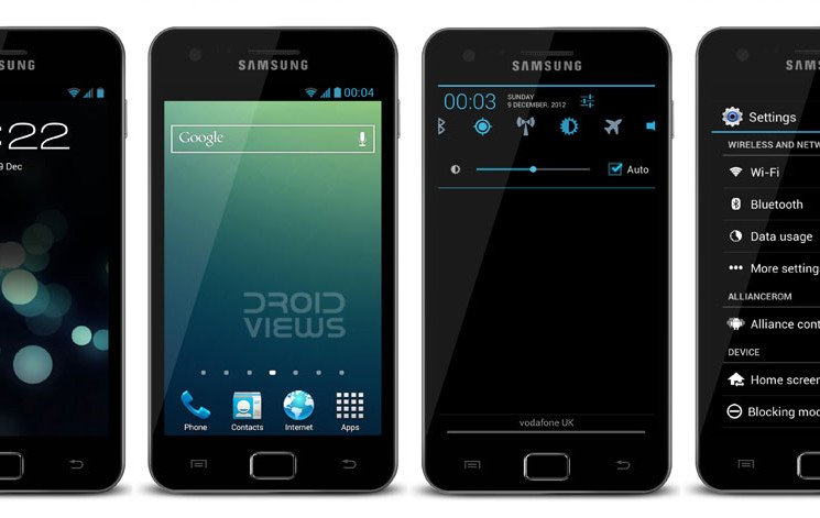 install stock android 412 jb based alliance rom on
