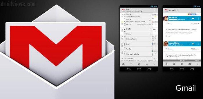 Gmail 4.2 Update