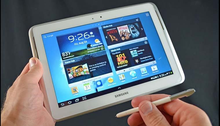 galaxy note 10.1 tips