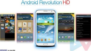 Android Revolution HD ROM Note 2