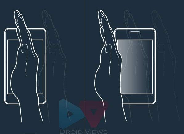 capture screen palm gesture