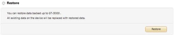 samsung kies device data restore