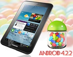 Update Galaxy Tab 2 7 0 GT-P3110 with Android 4 2 2 | DroidViews