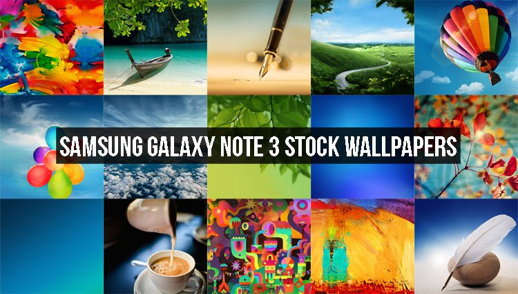 Samsung Galaxy Note 3 Stock Wallpapers