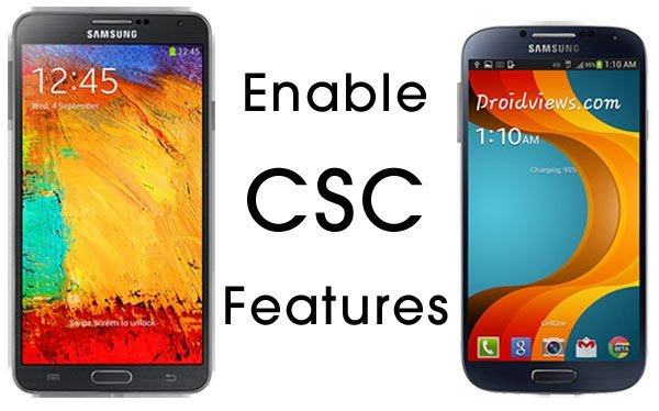 Enable CSC Features on Samsung Devices (Root) | DroidViews