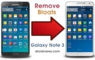 Remove Galaxy Note 3 Bloatware