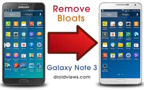 Remove Galaxy Note 3 Bloatware with or Without Root