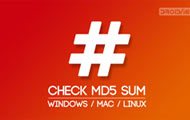 Check MD5 Sum on Windows, Mac, Linux