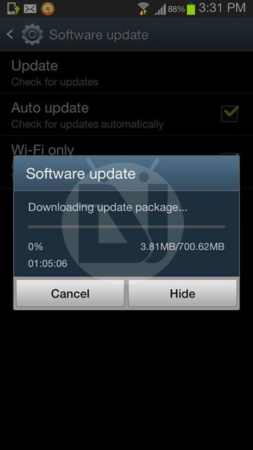 galaxy-note 2 android 4.3 ota