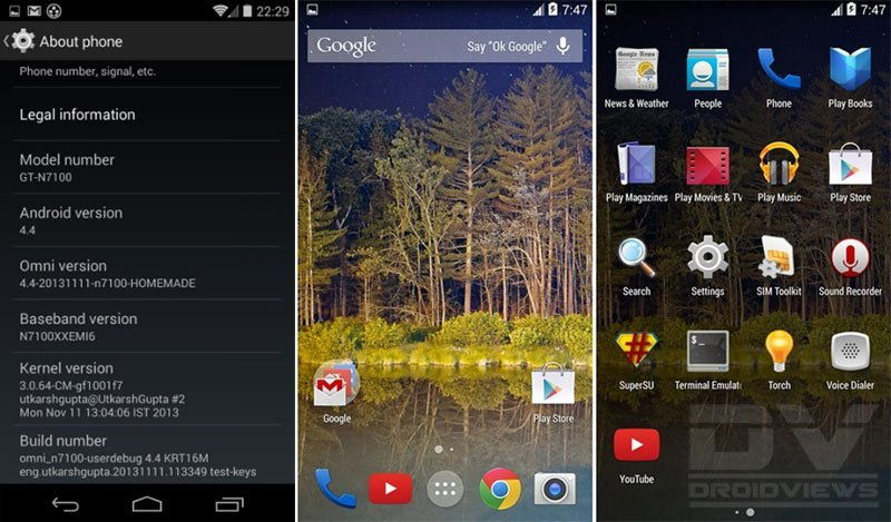 Note 2 android latest version