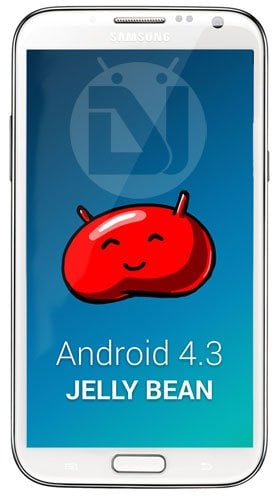 Note 2 Android 4.3 Jelly Bean